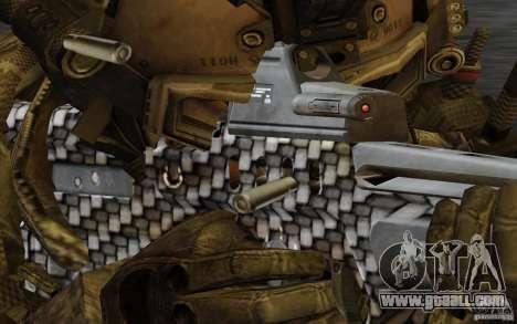 Tavor Tar-21 Carbon for GTA San Andreas third screenshot