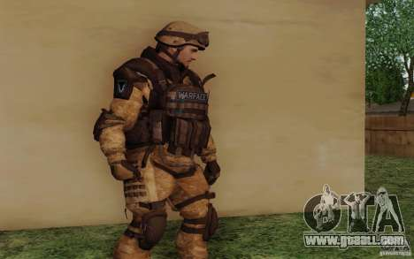 Šturomvik of Warface for GTA San Andreas second screenshot