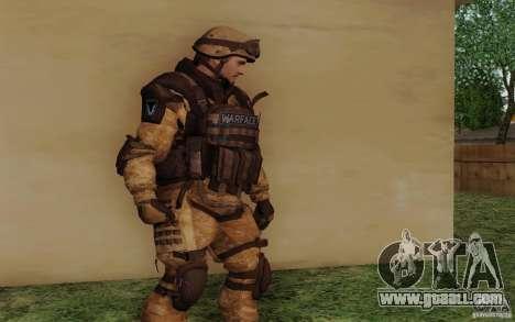 Šturomvik of Warface for GTA San Andreas second screenshot