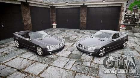 Mercedes Benz SL65 AMG for GTA 4 interior