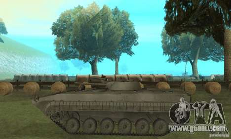 Bmp-1 Grey for GTA San Andreas left view