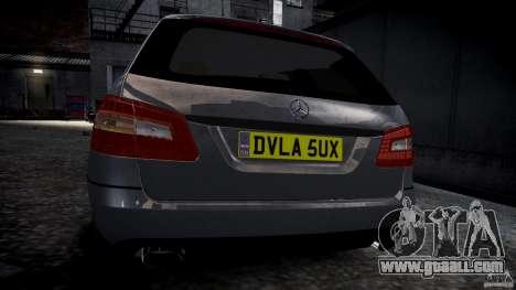 Mercedes E-Class wagon for GTA 4 right view