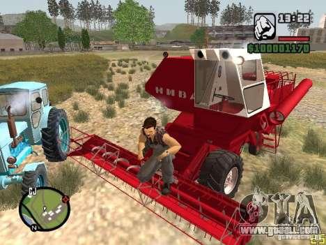 SK-5 Niva combine for GTA San Andreas