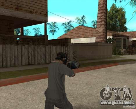 M4 Drum Magazine for GTA San Andreas third screenshot