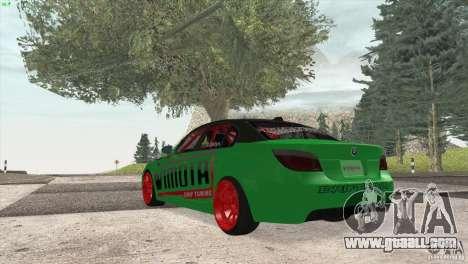 BMW M5 E60 Darius Balys for GTA San Andreas right view