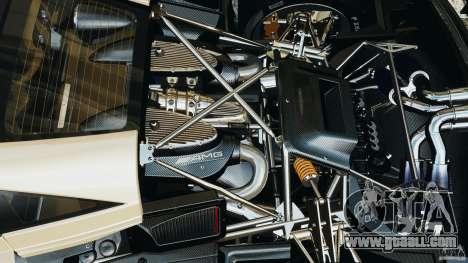 Pagani Huayra 2011 v1.0 [EPM] for GTA 4 upper view