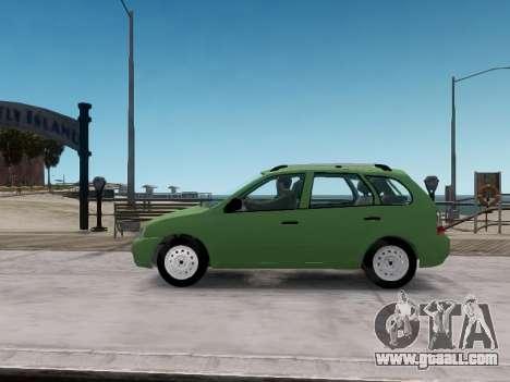 LADA 1117 station wagon Viburnum for GTA 4 left view