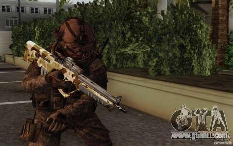 Tavor Tar-21 Camodesert for GTA San Andreas