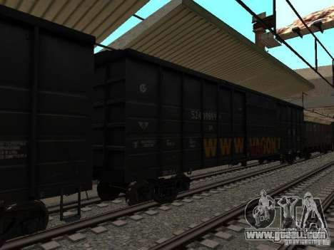 RAILWAY mod IV final for GTA San Andreas eighth screenshot