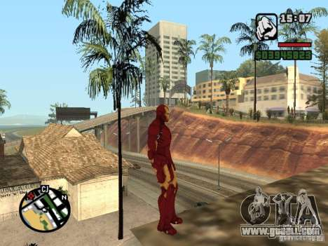 Iron man 2 for GTA San Andreas third screenshot