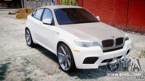 BMW X6M v1.0 for GTA 4 inner view