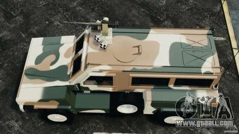 RG-31 Nyala SANDF for GTA 4 right view