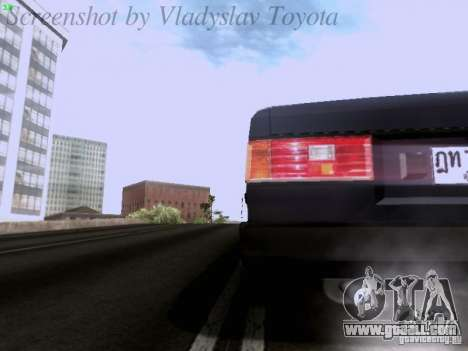 Toyota Corolla TE71 Coupe for GTA San Andreas upper view