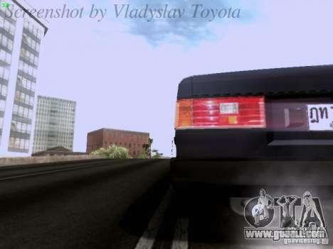 Toyota Corolla TE71 Coupe for GTA San Andreas upper view