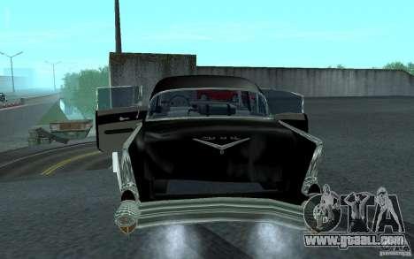 Chevrolet BelAir 4 Door Sedan 1957 for GTA San Andreas right view