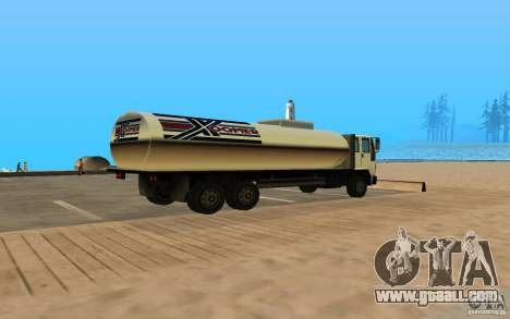DFT-30 c Tank for GTA San Andreas back left view