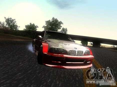 BMW M3 GTR1 for GTA San Andreas