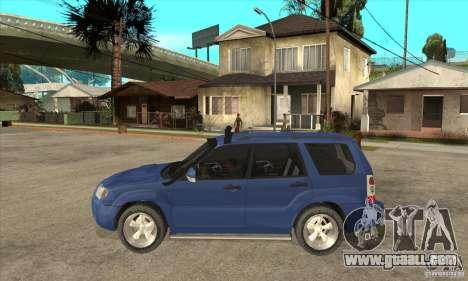 Subaru Forester 2005 for GTA San Andreas
