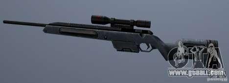 Steyr Scout for GTA San Andreas third screenshot