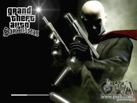 HITMAN-style boot screen for GTA San Andreas seventh screenshot