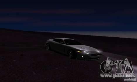 Jaguar XKRS for GTA San Andreas right view