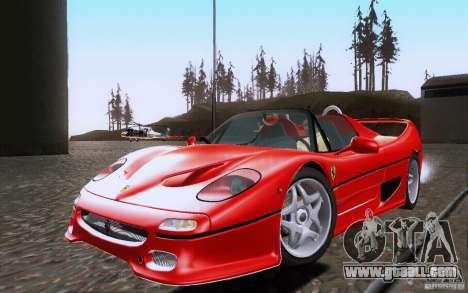 Ferrari F50 v1.0.0 1995 for GTA San Andreas