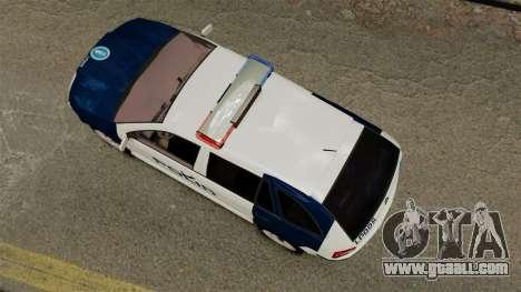 Skoda Fabia Combi Finnish Police ELS for GTA 4 right view