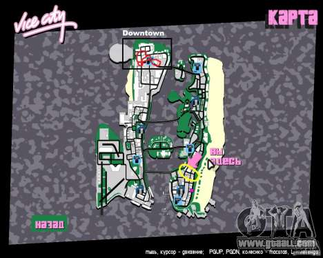 New Downtown: Shops and Buildings for GTA Vice City eleventh screenshot