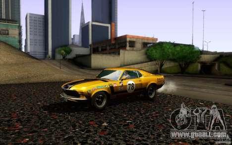 Ford Mustang Boss 302 for GTA San Andreas