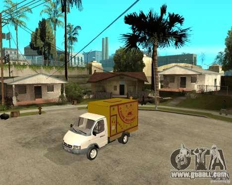 Gazelle Gaz-3302 Grill for GTA San Andreas