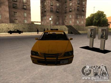 Taxi from GTA IV for GTA San Andreas right view