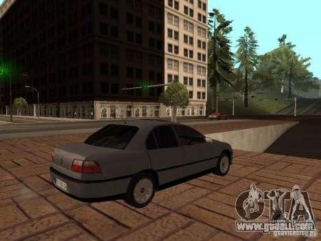 Opel Omega B 1998 v2 for GTA San Andreas right view