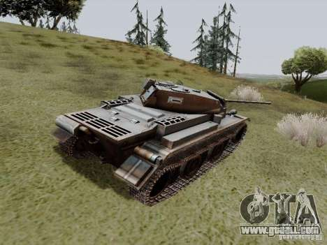 PzKpfw II Ausf.B for GTA San Andreas back left view