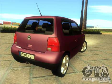 Volkswagen Lupo for GTA San Andreas right view