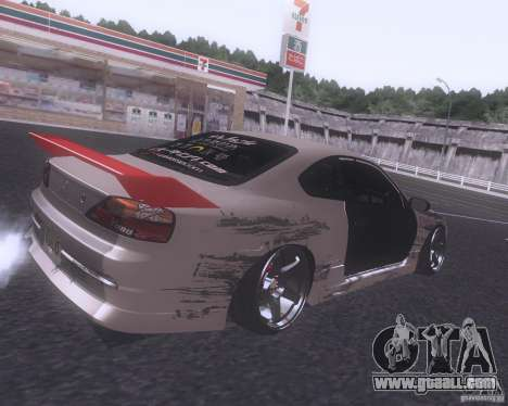 Nissan Silvia S15 Street for GTA San Andreas right view