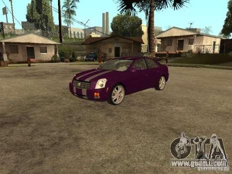 Cadillac CTS for GTA San Andreas inner view