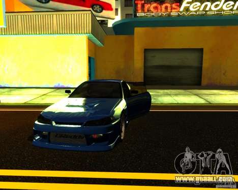 Nissan Silvia C-West for GTA San Andreas side view