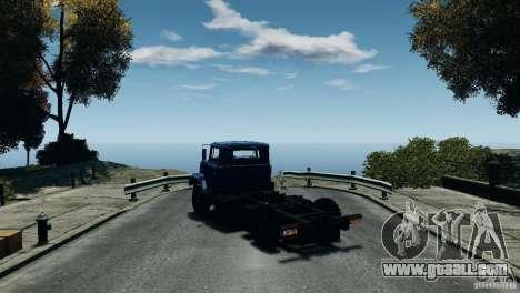 KrAZ-5133 for GTA 4 right view