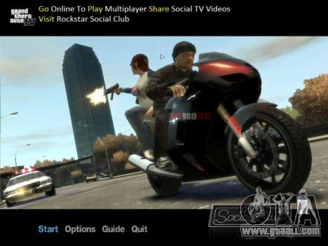 New screen offline for GTA 4