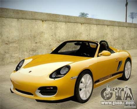 Porsche Boxter Spyder for GTA San Andreas