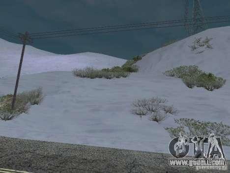 Frozen bone country for GTA San Andreas third screenshot