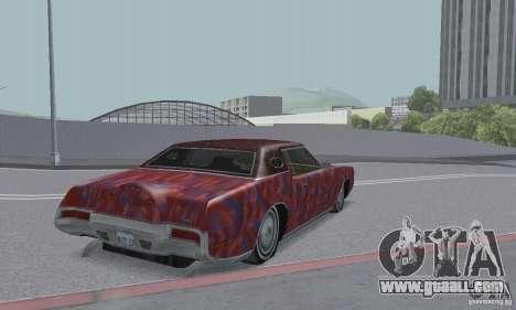 Lincoln Continental Mark IV 1972 for GTA San Andreas