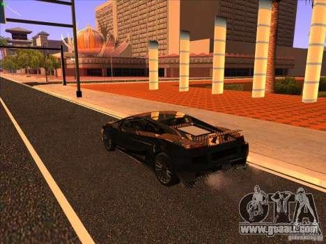 Lamborghini Gallardo Underground Racing for GTA San Andreas right view
