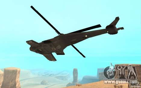 Scout Drone from BO2 for GTA San Andreas left view