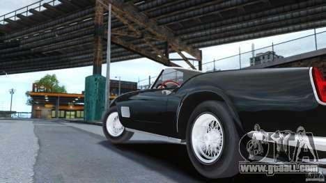 Ferrari 250 California 1957 for GTA 4 back left view