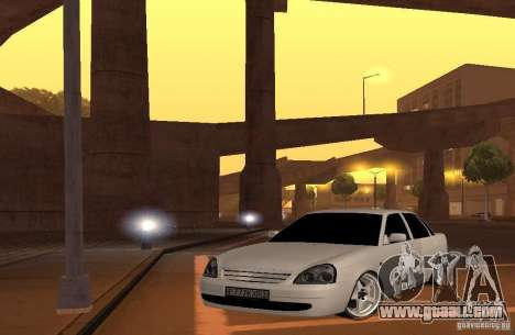LADA priora v. 2 for GTA San Andreas