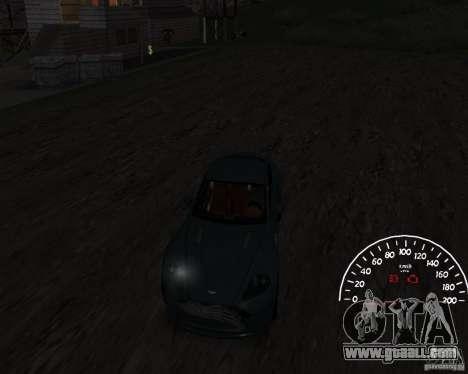 Speedometer 1.0 for GTA San Andreas second screenshot