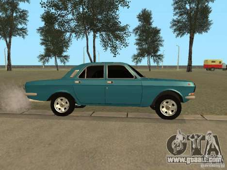 Volga GAZ 24-10 for GTA San Andreas left view