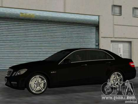Mercedes-Benz E63 AMG for GTA Vice City left view