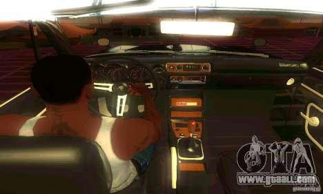 Nissan Skyline 2000-GTR for GTA San Andreas back view